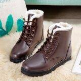 ขาย Hanyu Women S รองเท้าบูท Snow Boots Martin Boots รองเท้ากันแดด Ladis สีน้ำตาลขนาด 35 ใหม่
