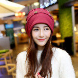 ขาย Haotom Women Sleeve Caps Head Hats Turban Confinement Cap For Woman Lady S Head Wear Cloth Accessory Red Intl ถูก ใน จีน