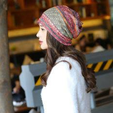 ขาย Haotom Women Sleeve Caps Head Hats Turban Confinement Cap For Woman Lady S Head Wear Cloth Accessory Red Intl จีน