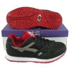 ขาย รองเท้าวิ่ง รองเท้าจ๊อกกิ้ง Hara J 75 ดำเทา Hara เป็นต้นฉบับ