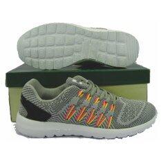 ขาย รองเท้าวิ่ง รองเท้าจ๊อกกิ้ง Hara Jb 01 เทา