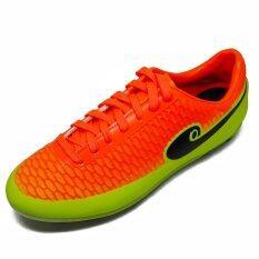 ซื้อ รองเท้าฟุตบอล Hara Sports รุ่น F86 สีเขียวตอง ส้ม Hara เป็นต้นฉบับ