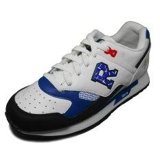 ราคา Hara Sports รองเท้าผ้าใบ ผู้ชาย ผู้หญิง รุ่น J81 สีขาว น้ำเงิน ใหม่