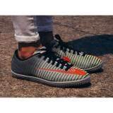 ซื้อ Hara Sports รองเท้าผ้าใบ ผู้ชาย รุ่น T132 สีเทา เขียว ถูก ใน กรุงเทพมหานคร
