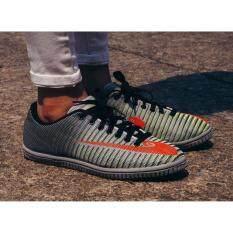ขาย Hara Sports รองเท้าผ้าใบ ผู้ชาย รุ่น T132 สีเทา เขียว ใหม่