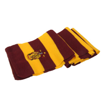BolehDeals Harry Potter Vouge Gryffindor House คอสเพลย์ถัก \n เครื่องแต่งกายผ้าพันคอ