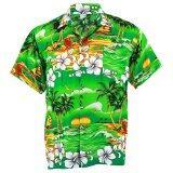 โปรโมชั่น Hawaiian Shirt เสื้อเชิ้ตฮาวาย Hibiscus Chaba Isle Coconut Beach รุ่น Hw264T Green Unbranded Generic ใหม่ล่าสุด