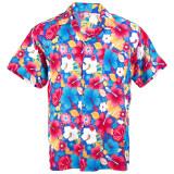 ซื้อ Hawaiian Shirt เสื้อเชิ้ตฮาวาย Vivid Multi Color Chaba Beach รุ่น Hw263S Blue ใน กรุงเทพมหานคร