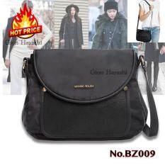 ขาย Hayashi กระเป๋าถือ กระเป๋า กระเป๋าสะพายข้าง กระเป๋าสะพายไหล่ กระเป๋าแฟชั่น รุ่น No Bz009 Size 30 X 20 X 10 Cm สีดำ ถูก