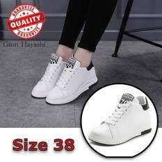 ขาย Hayashi Snow Fashion รองเท้าหนังแฟชั่นเสริมสันผู้หญิง สีขาว Size 38 ถูก กรุงเทพมหานคร