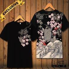 ราคา เสื้อยืด แฟชั่นชาย คอกลม แบบสบายๆ แนวกีฬา แขนสั้น Hd Color ลาย ภาพวาดญี่ปุ่นโบราณ Japanese Drawing T Shirt Men Crew Neck Causal Sports Short Sleeve Top Tee เป็นต้นฉบับ