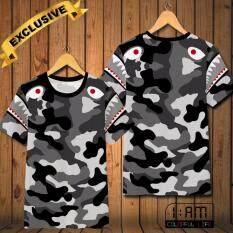 เสื้อยืด แฟชั่นชาย คอกลม แบบสบายๆ แนวกีฬา แขนสั้น Hd Color ลายพราง Army Battle T Shirt Men S Crew Neck Causal Sports Short Sleeve Top Tee เป็นต้นฉบับ