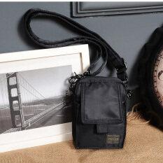 ราคา กระเป๋าสะพายข้างสำหรับใส่มือถือของผู้ชาย ยี่ห้อHead Porter สีดำ สีดำ Unbranded Generic ฮ่องกง