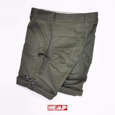 กางเกงขาสั้นชิโน Heap 100%cotton ส่งตรงจากโรงงาน By Heapstore.