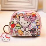 ส่วนลด Hello Kitty กระเป๋าน่ารักของผู้หญิงอ่อนด้านซิป ฮ่องกง
