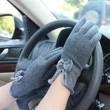 ซื้อ Hengsong Women Winter Touch Screen Velvet Warm Gloves Gray Intl Hengsong ถูก