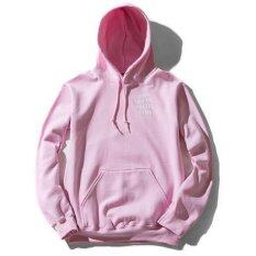 ความคิดเห็น Hequ Anti Social Club Men Sweatshirts Autumn Fashion Hooded Hip Hop Style Streetwear Tracksuit Hoodies Pink Intl