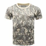 ขาย Hequ อำพรางเสื้อยืดผู้ชายระบายอากาศได้ยุทธวิธีเสื้อยืดทหาร Camo ค่าย Tees เสื้อ H01 นานาชาติ เป็นต้นฉบับ