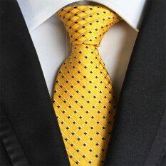 คุณภาพสูงชาย Strip อย่างเป็นทางการเนกไทเชิงพาณิชย์โพลีเอสเตอร์ผ้าไหม Neckties สำหรับงานแต่งงานเหล้าองุ่น By Lightdream.