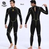 ราคา High Quality Slinx Men 3Mm Neoprene Camouflage Siamese Diving Suit Long Wetsuit Diving Suit Sleeve Full Body Sunblock Wetsuit For Underwater Sport Poo Black Intl ที่สุด
