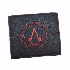 ซื้อ High Quality Wallets Cool Game Assassins Creed Men Wallet With Coin Pocket For Young Intl ใหม่ล่าสุด