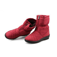 ราคา High Quality Women S Snow Boots Waterproof Winter Warm Plush Shoes Woman Big Size Red Intl ใหม่ ถูก