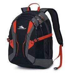 ทบทวน High Sierra Backpack Crawler V2 Black Charcoal High Sierra