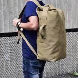 ราคา Hins กระเป๋าสัมภาระอเนกประสงค์ Multipurpose Minimalist Style Backpack รุ่น Fm308 ไซส์ Large สีกากี