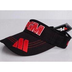 หมวกเปิดสีดำ Pgm (mz004).