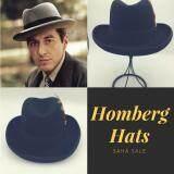ราคา Homberg Hats Al Pacino Hats Handmade 100 Wool หมวกทรงฮอมเบิร์ก Hat กรุงเทพมหานคร