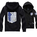 ราคา Hoodie Sweater Coat Attack On Titan Shingeki No Kyojin Scouting Legion Intl ใหม่