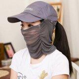 ซื้อ Hot Item Fashion Summer Uv Protection หมวกผ้าคลุมกันแดดแฟชั่นคุณภาพสูง Gray ออนไลน์ ไทย