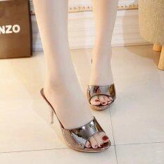 ราคา ขายร้อน รองเท้าเซ็กซี่ผู้หญิงฤดูร้อนแฟชั่นส้นสูงรองเท้าแตะผู้หญิงรองเท้าแตะรองเท้าผู้หญิงขนาด 35 39 นานาชาติ ที่สุด