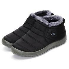 ซื้อ ร้อนฤดูหนาวของผู้หญิงผ้าขนสัตว์เรียงรายลื่นบนข้อเท้าหิมะรองเท้าผ้าใบรองเท้า 1 สนามบินนานาชาติ Unbranded Generic ออนไลน์