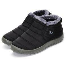 ขาย ร้อนฤดูหนาวของผู้หญิงผ้าขนสัตว์เรียงรายลื่นบนข้อเท้าหิมะรองเท้ารองเท้าผ้าใบ สนามบินนานาชาติ ถูก
