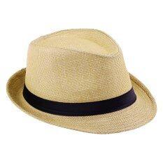ซื้อ Hotdeal Panama Classic Hat หมวกปานามา สีน้ำตาลอ่อน ออนไลน์
