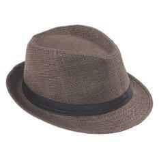 ซื้อ Hotdeal Panama Classic Hat หมวกปานามา สีน้ำตาลเข้ม