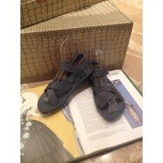 ขาย ซื้อ ออนไลน์ Hpb รองเท้ายางรัดส้น สีเทา
