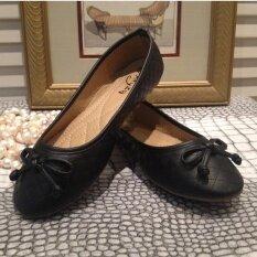 ซื้อ Hpb รองเท้าคัชชูหนัง Pu ส้นยาง สีดำ ออนไลน์ กรุงเทพมหานคร