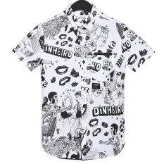 ขาย ซื้อ Huafei เสื้อแนวโน้มที่ทันสมัยห้างสรรพสินค้าวรรคเดียวกัน 001 ดริฟท์สีขาว ใน ฮ่องกง