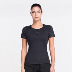 ราคา I ลำลองลำแสงหลายสีแขนสั้นเสื้อยืดออกกำลังกายเสื้อผ้า ลำแสงสีดำ เป็นต้นฉบับ