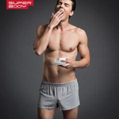ขาย I ผ้าฝ้ายออกกำลังกายที่บ้านกางเกงกางเกงลูกศร สีเทา ราคาถูกที่สุด