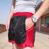 ราคา กีฬาออกกำลังกายวิ่งจ๊อกกิ้งสามยืดกางเกงชายหาดสบายๆกางเกงขาสั้น สีดำ Hong ใหม่