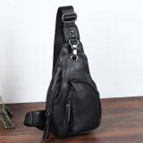 ราคา กระเป๋าหนังคาดอก สำหรับผู้ชาย สีดำ สีดำ ใหม่ ถูก