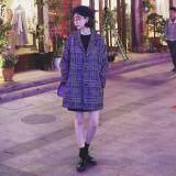 ราคา โค้ทกันหนาว สไตล์เกาหลี ลายสก๊อต Iriscoat ใหม่