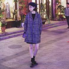 ความคิดเห็น โค้ทกันหนาว สไตล์เกาหลี ลายสก๊อต Iriscoat