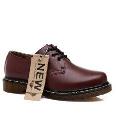 ราคา Ishoes รองเท้าแฟชั่นสำหรับบุรุษและสตรีไม่จำกัดเพศลูกไม้ขึ้นรองเท้าหนังแท้ นานาชาติ ใหม่ ถูก