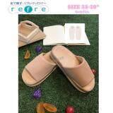 ขาย Itemรองเท้าเพื่อสุขภาพ ใส่เดินในบ้าน พื้นหนา สีชมพูอ่อน Size M 35 39 ใหม่