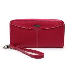ราคา Jacob International กระเป๋าสตางค์ รุ่น V32016 Pink ใน Thailand