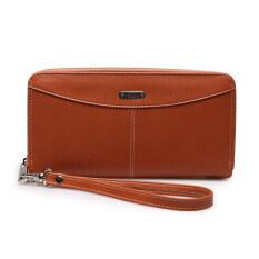 โปรโมชั่น Jacob International กระเป๋าสตางค์ รุ่น V32016 Brown ใน ไทย